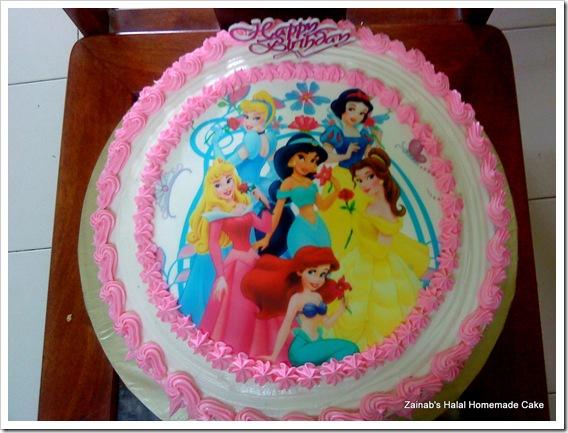 Zairie Homemade Delights Birthday Cake For My Little Girl